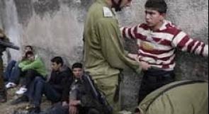 اعتقال أربعه فتيه من بلدة عزون
