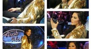 بالصور... مجوهرات أحلام بـ 4 مليون دولار في إحدى حلقات 'اراب ايدول'