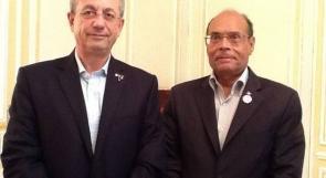 البرغوثي يبحث مع الرئيس التونسي دعم جهود التوجه للأمم المتحدة