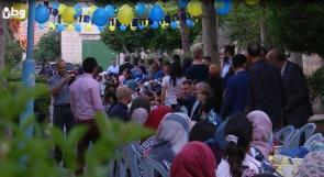 عائلات قرية الاطفال في بيت لحم على مائدة واحدة بدعم أوروبي
