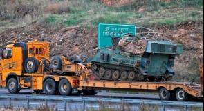 بالصور والفيديو .. جيش الاحتلال ينقل المدفعيات الى حدود لبنان ويستدعي قوات احتياط