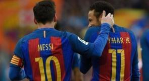 نيمار: ميسي أفضل لاعب في العالم
