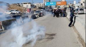 صحفيون دوليون تحت النار في قلنديا
