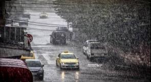 حالة الطقس: أمطار وعواصف رعدية اليوم والحرارة أدنى من معدلها السنوي
