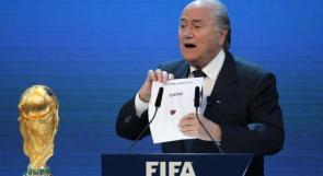 بلاتر يكشف فضيحة جديدة في ملف مونديال قطر