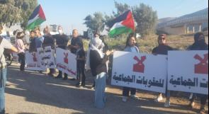 """تظاهرتان في كفر كنا وأمام سجن """"جلبوع"""" دعما للأسرى"""