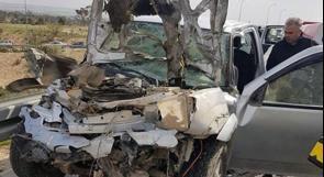 مصرع مواطن بحادث سير في النقب