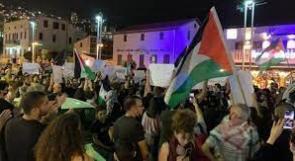 إصابات واعتقالات خلال قمع الاحتلال مسيرات منددة بالعدوان على القدس وغزة بالداخل المحتل