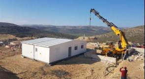 الاحتلال يقيم منازل في اول مستوطنة جديدة في الضفة الغربية منذ اكثر من 25 عاما