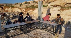 """للمرة الثانية خلال أسبوع.. الاحتلال يسلب ممتلكات مدرسة """"التحدّي 13"""""""