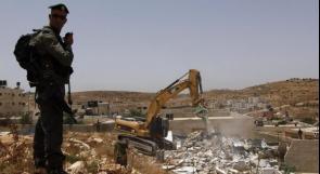 الاحتلال يهدم منزلاً يعود لعائلة الجعابيص شرق بيت لحم