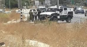 الاحتلال يعتقل 4 شبان جنوب نابلس