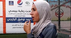هناء مهدي.. أول مدربة كرة قدم للفتيات في غزة
