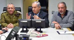 """""""الكابينت"""" الاسرائيلي يجتمع الاربعاء لمناقشة """"اتفاق التهدئة"""" مع غزة"""