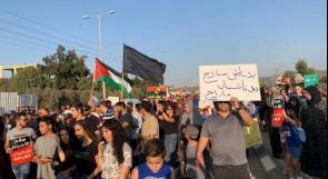 تواصل الاحتجاجات في الداخل المحتل على الجريمة وتواطؤ الاحتلال