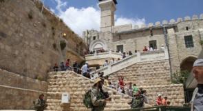 الخليل تحتفي بعمال وسدنة الحرم الإبراهيمي