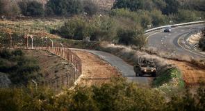 استنفار في جيش الاحتلال شمال الأراضي المحتلة عام 48 بعد رصد تسلل شخص إلى لبنان