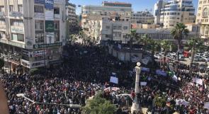 الحراك لوطن: نطالب بإلغاء الضمان والأول من الشهر المقبل إضراب شامل