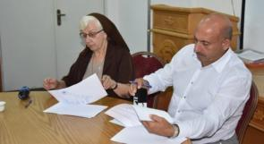 بلدية بيت جالا و مؤسسة كاريتاس يوقعان مذكرة تفاهم لمشروع الأمن الغذائي