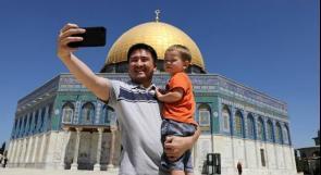 الفلسطينيون ينافسون  إسرائيل على الزوار  المسلمين الى القدس