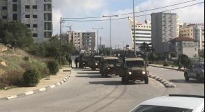 رام الله | الاحتلال يستولي على تسجيلات كاميرات المحلات في حي الإرسال