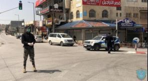 الشرطة تغلق 90 محلاً تجارياً وتضبط 9 مركبات غير قانونية في جنين