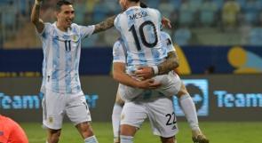 """ميسي يقود الأرجنتين لنصف نهائي بطولة """"كوبا أميركا"""""""