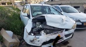 خمس إصابات جراء حادث سير في كفرقرع