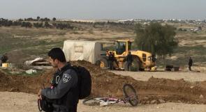 صور.. الاحتلال يهدم العراقيب للمرة الـ 124