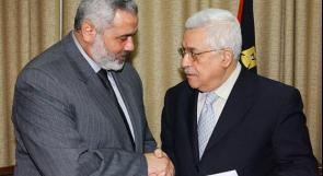 الرئيس عباس يهاتف هنية معزيا بوفاة شقيقه
