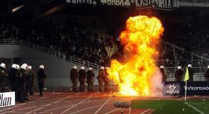 """بالصور.. هدف """"جزائرى"""" يفجر بركان الغضب فى """"ديربى اليونان"""""""