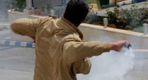 بالصور ... قوات الاحتلال تقمع اطفال النبي صالح
