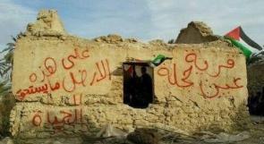 """قوات الاحتلال تحاصر قرية """"عين حجلة"""" في الأغوار"""
