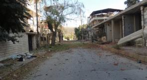 طفلة فلسطينية تقضي جنوب دمشق