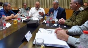 """بدء اجتماع """"الكبينيت"""" لمناقشة تسوية مع غزة"""