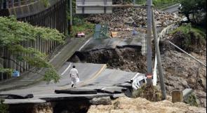 السلطات اليابانية تأمر بإجلاء 1.3 مليون شخص بعد أمطار أودت بحياة 50 شخصا