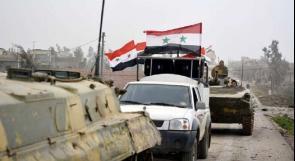 رفع العلم السوري فوق المباني الحكومية في القامشلي والحسكة والجيش يدخل قرى وبلدات ريف الرقة