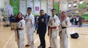 المنتخب الفلسطيني للكراتيه يتألق في مباراة غرب آسيا ويفوز على 10 دول