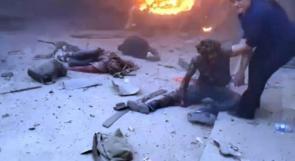 مجزرة جديدة ترتكبها طائرات العدوان التركي في رأس العين