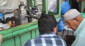 قهوة ابو محمد بنكهة عين حوض على رصيف وطن