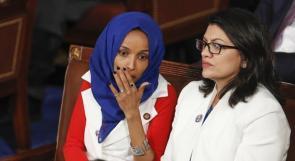 حكومة نتنياهو تمنع عضوات الكونغرس الأمريكي رشيدة طليب وإلهان عمر من دخول فلسطين