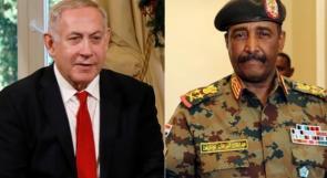نتنياهو: التقيت رئيس المجلس السيادي في السودان واتفقنا على التعاون وتطبيع العلاقات