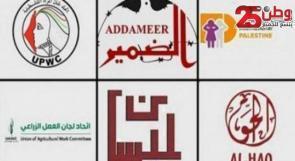 252 ائتلاف وشبكة ومنظمة تدين قرار الاحتلال بشأن منظمات حقوق الإنسان والمجتمع المدني الفلسطينية الست