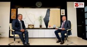 """"""" وطن """" تحاور المدير العام للبنك الإسلامي الفلسطيني ، عماد السعدي"""