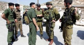 الاحتلال: وقف التنسيق الأمني .. خطر يظل ماثلا