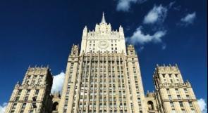 موسكو تستدعي مستشار السفارة الأمريكية لديها على خلفية نشر معلومات تتعلق بالشأن الداخلي