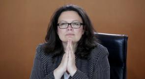 أندريا ناليس.. أول امرأة تتولى رئاسة الحزب الاشتراكي الألماني