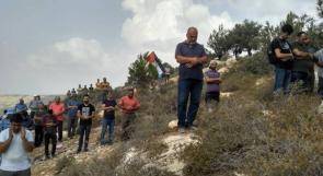 بالصور .. الاعتصام الاسبوعي في جبل الريسان