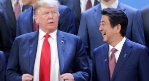 ترامب مرشح رئيس وزراء اليابان لجائزة نوبل