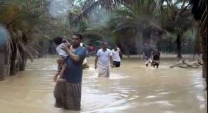 """اليمن.. 5 قتلى و40 مفقودا في سقطرى جراء إعصار """"مكونو"""""""